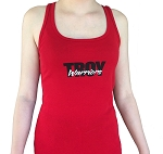 Ladies' Racerback Red